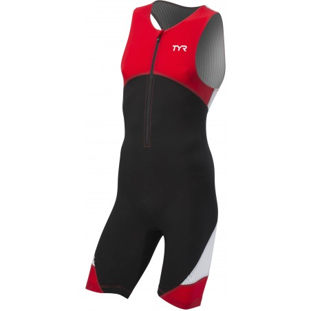 Carbon Padded Front Zip Tri Suit