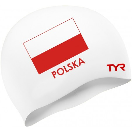 Poland Swim Cap