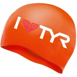 I Love TYR Silicone Cap