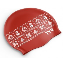 Christmas Swim Cap